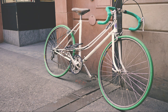 Bicycle bicycle frame bike cyclist green