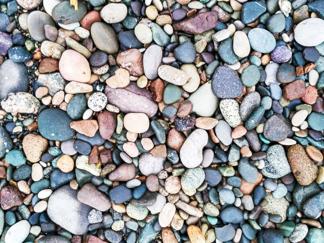 Abstract background beach cobblestone gravel