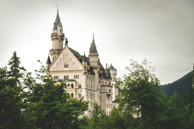 Architecture bavaria building castle daylight