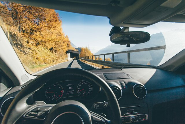 Automobile automotive autumn car dashboard