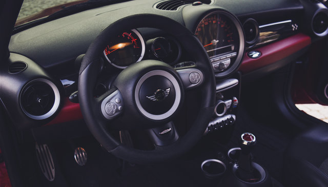 Automobile automotive car car interior dashboard