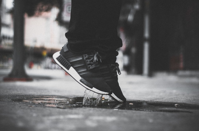 Adidas footwear nmd puddle shoes