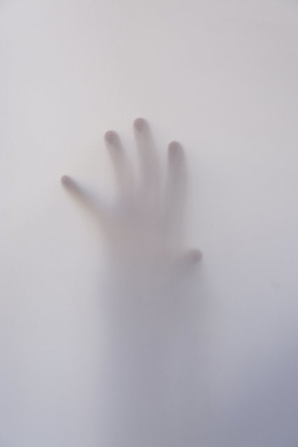 Art fingers foggy hand mysterious