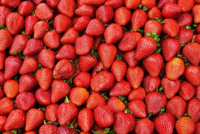 Strawberries fruit food fresh strawberry