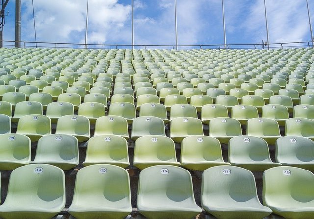 Stadium sport grandstand competition chairs