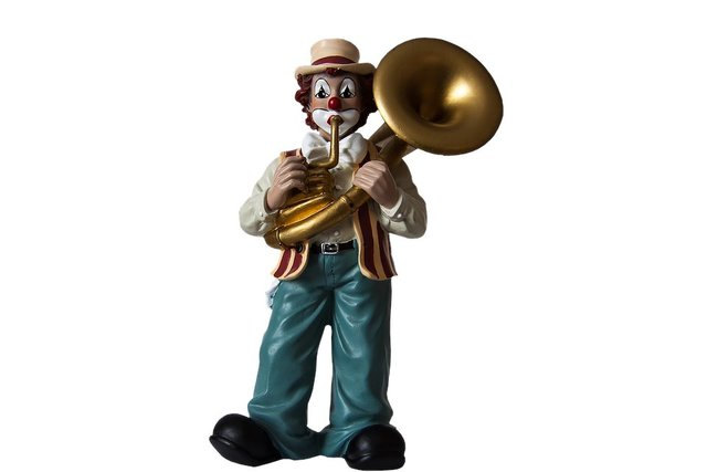 Clown musical clown figure isolated