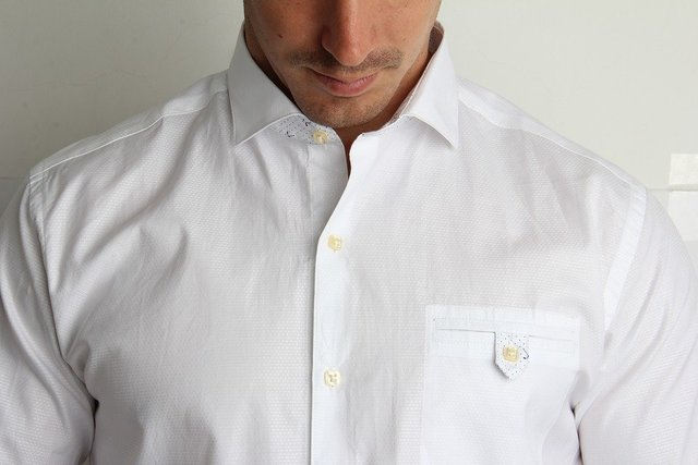 Shirt man white fashion 2017
