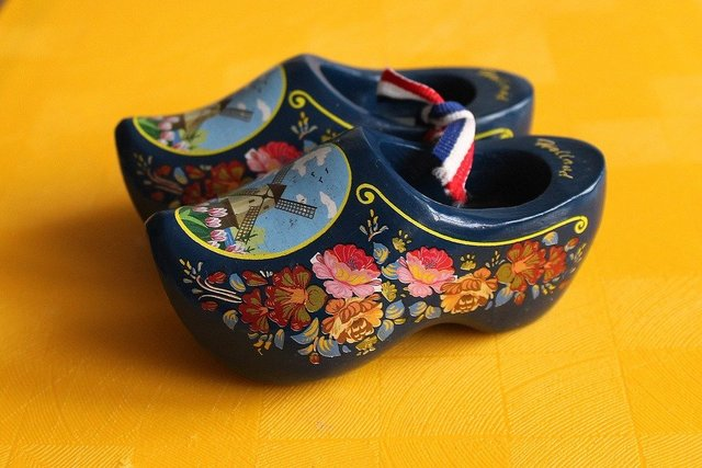 Clogs dutch shoes decorative souvenir tourism