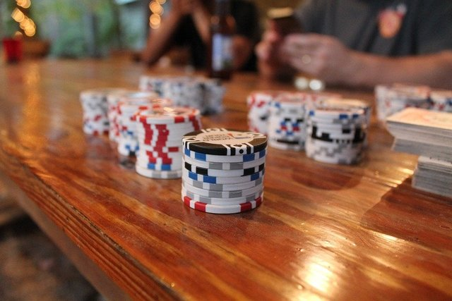 Poker poker chips cards game gambling