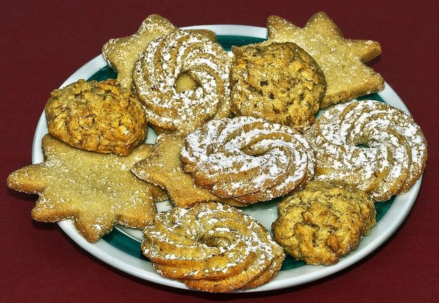 Christmas biscuits cookie cookies butter cookies