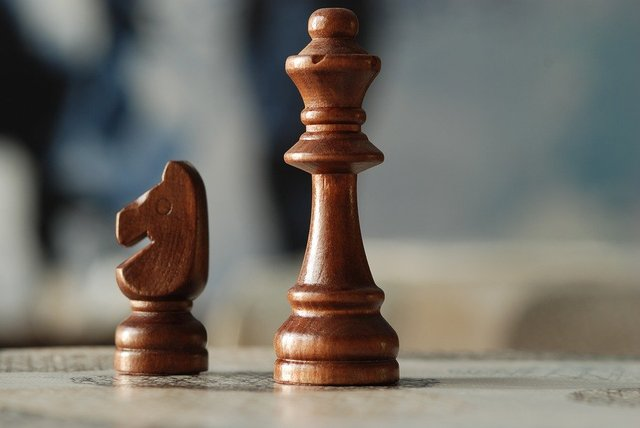 Chess board strategy game leadership