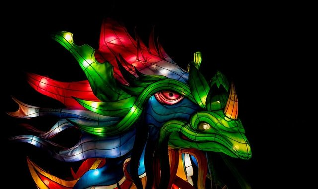 Chinese dragon asian culture tradition