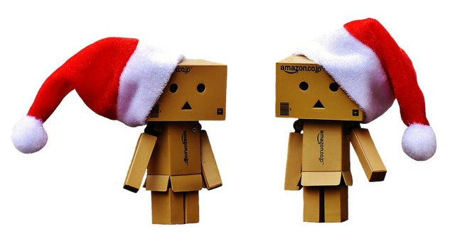 Danbo christmas figure together love