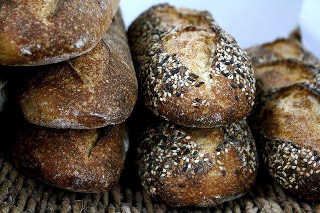 Baguette bread loaf loaves sesame
