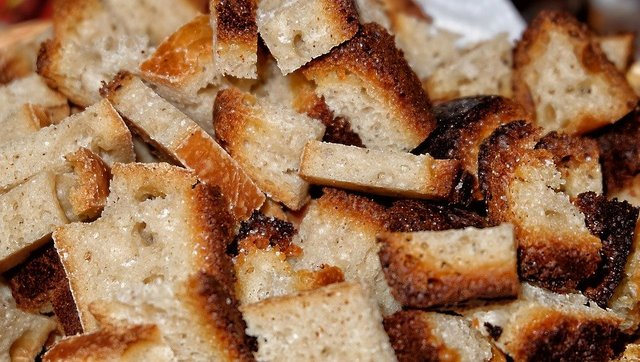 Bread crackers food toast