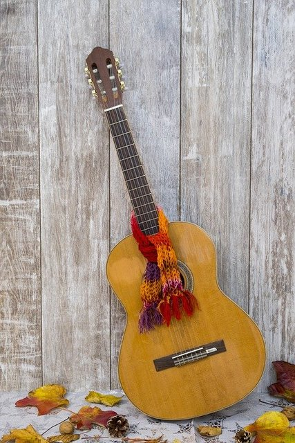 Guitar acoustic guitar instrument musical instrument