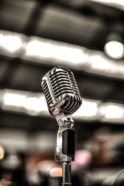 Mic music sound microphone concert