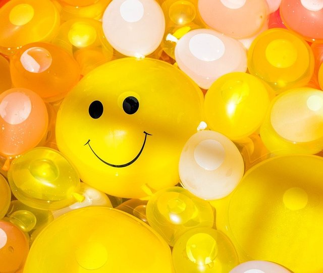 Smile happy balloon smiling fun