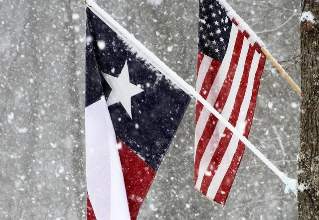 Texas flag usa state america