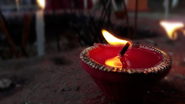 Diwali lighting lamp