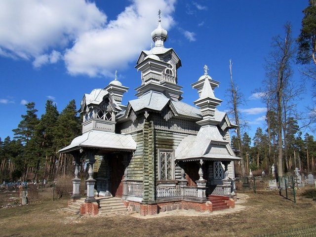 Temple wood orthodoxy architecture
