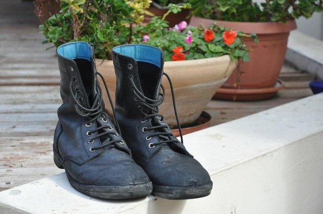 Vacation boots army shoes