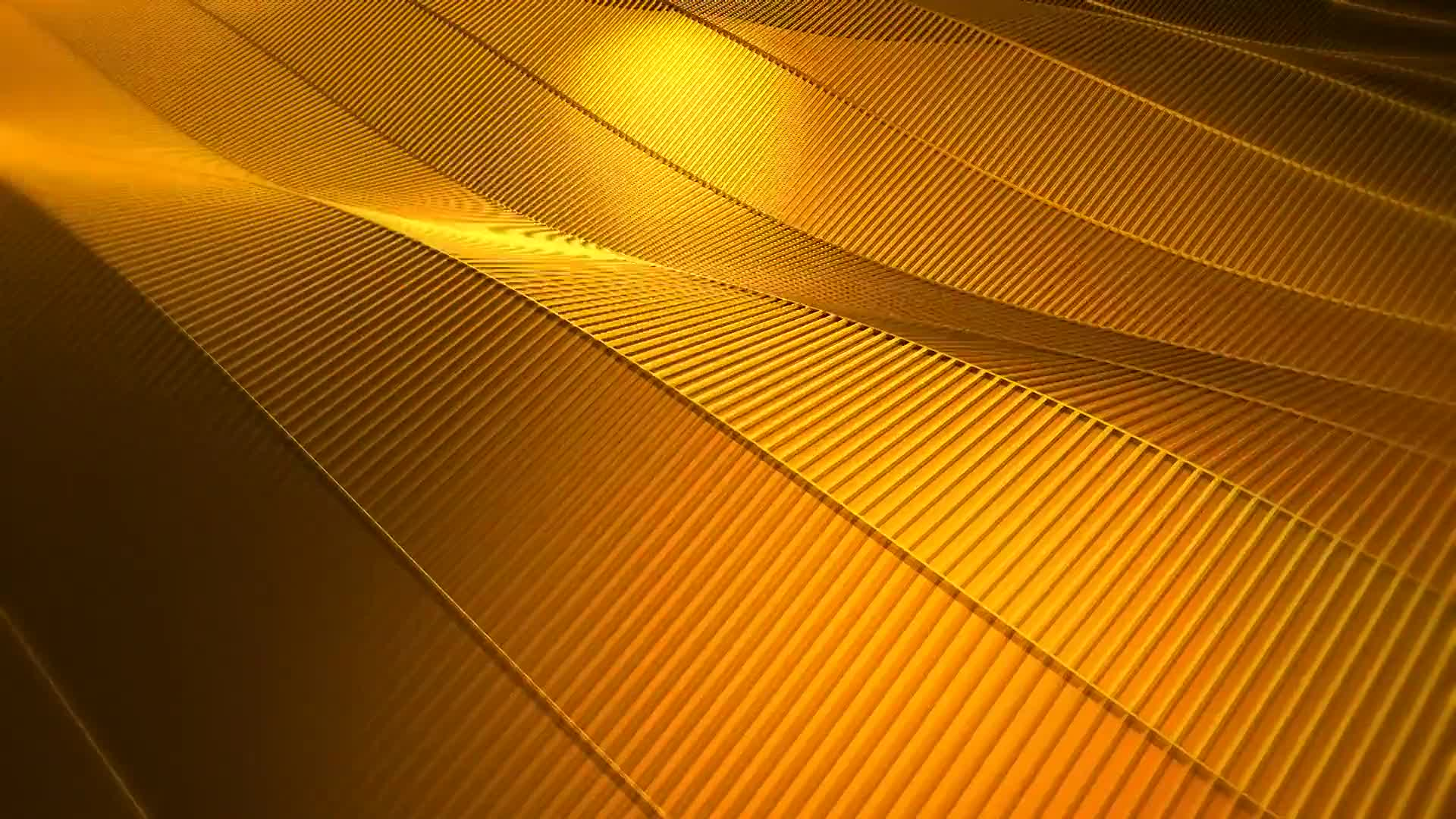 Wave gold abstract background loop