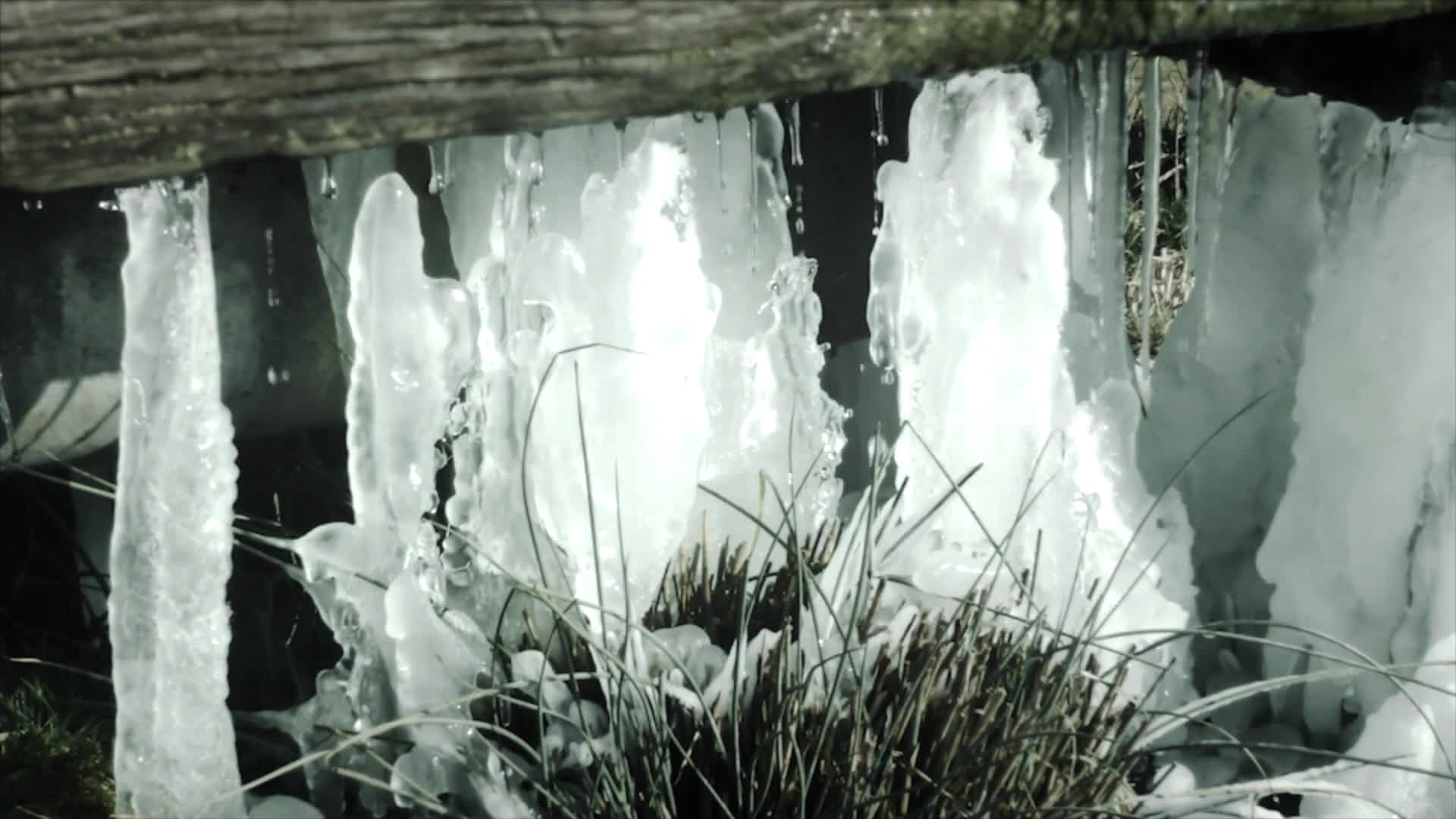 Video of melting ice