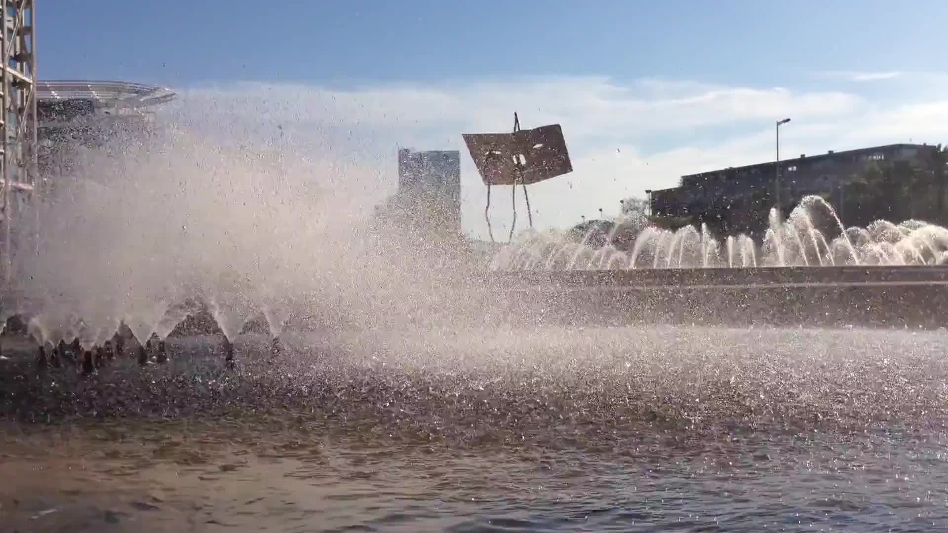 Video of fountain