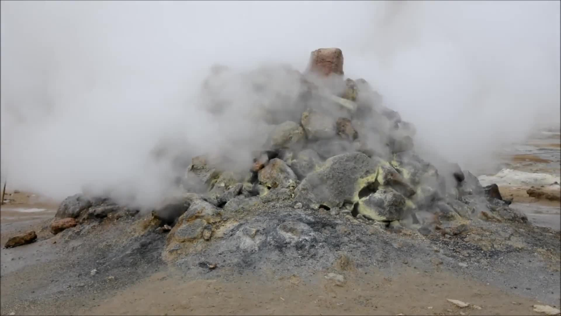 Steamy rocks