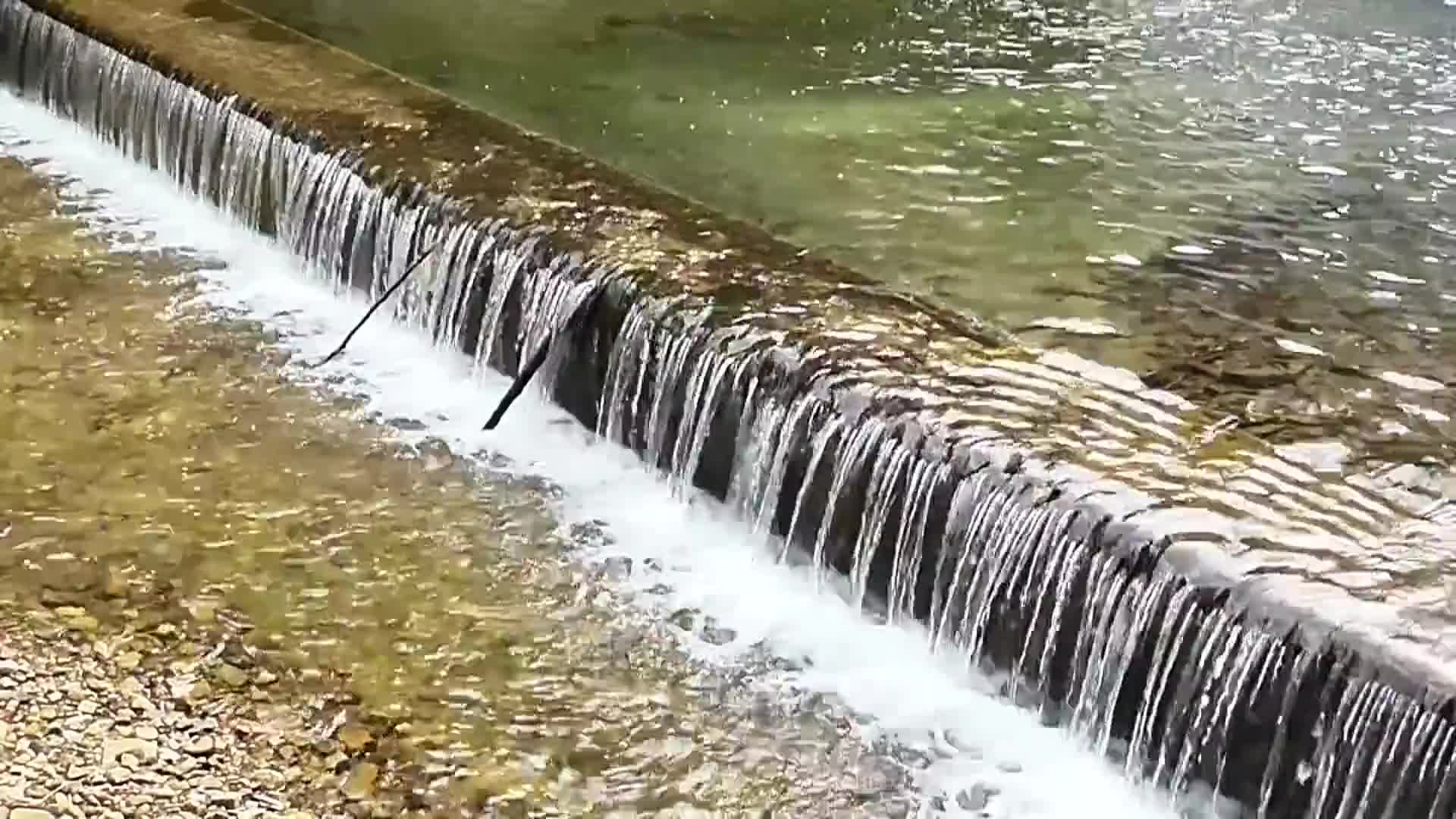Video of waterfalls during daytime