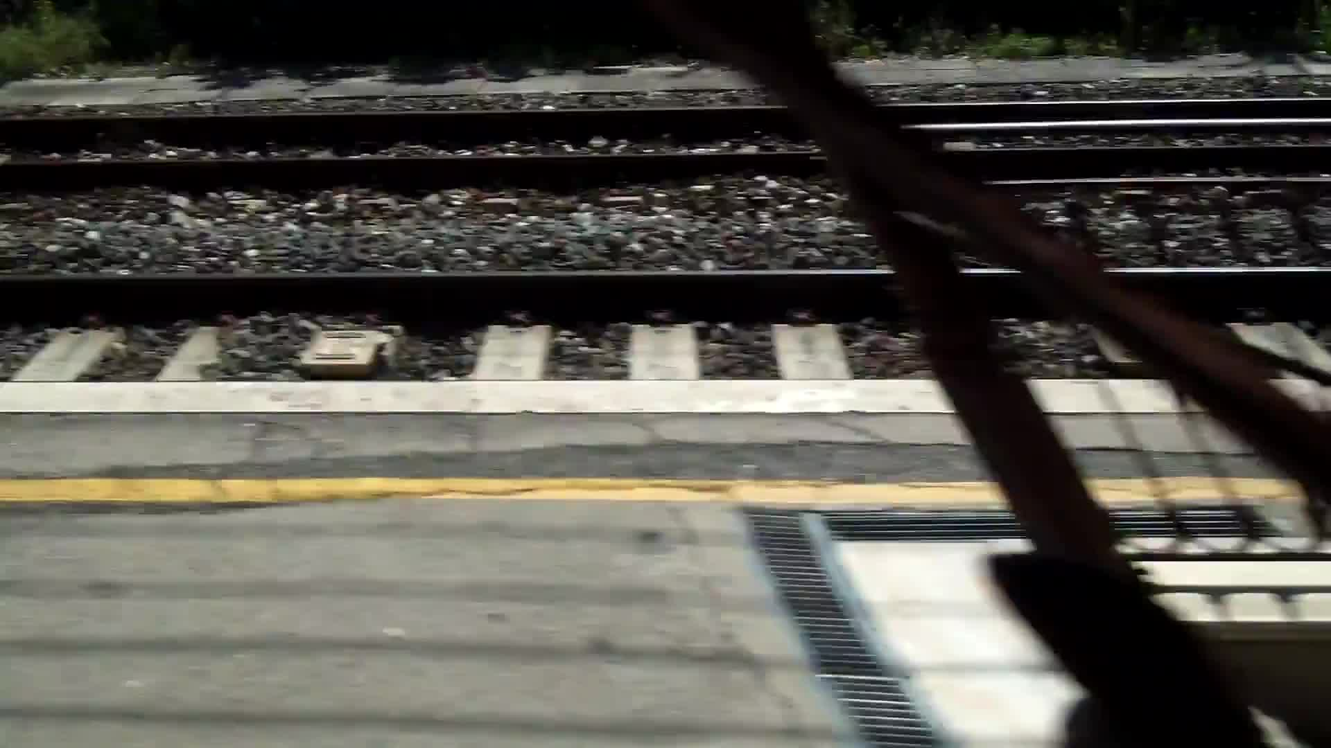 Video footage of railroad