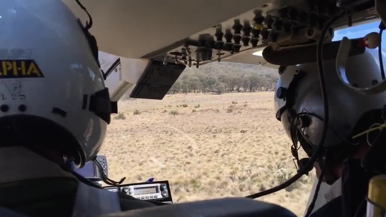 Video of helicopter ride