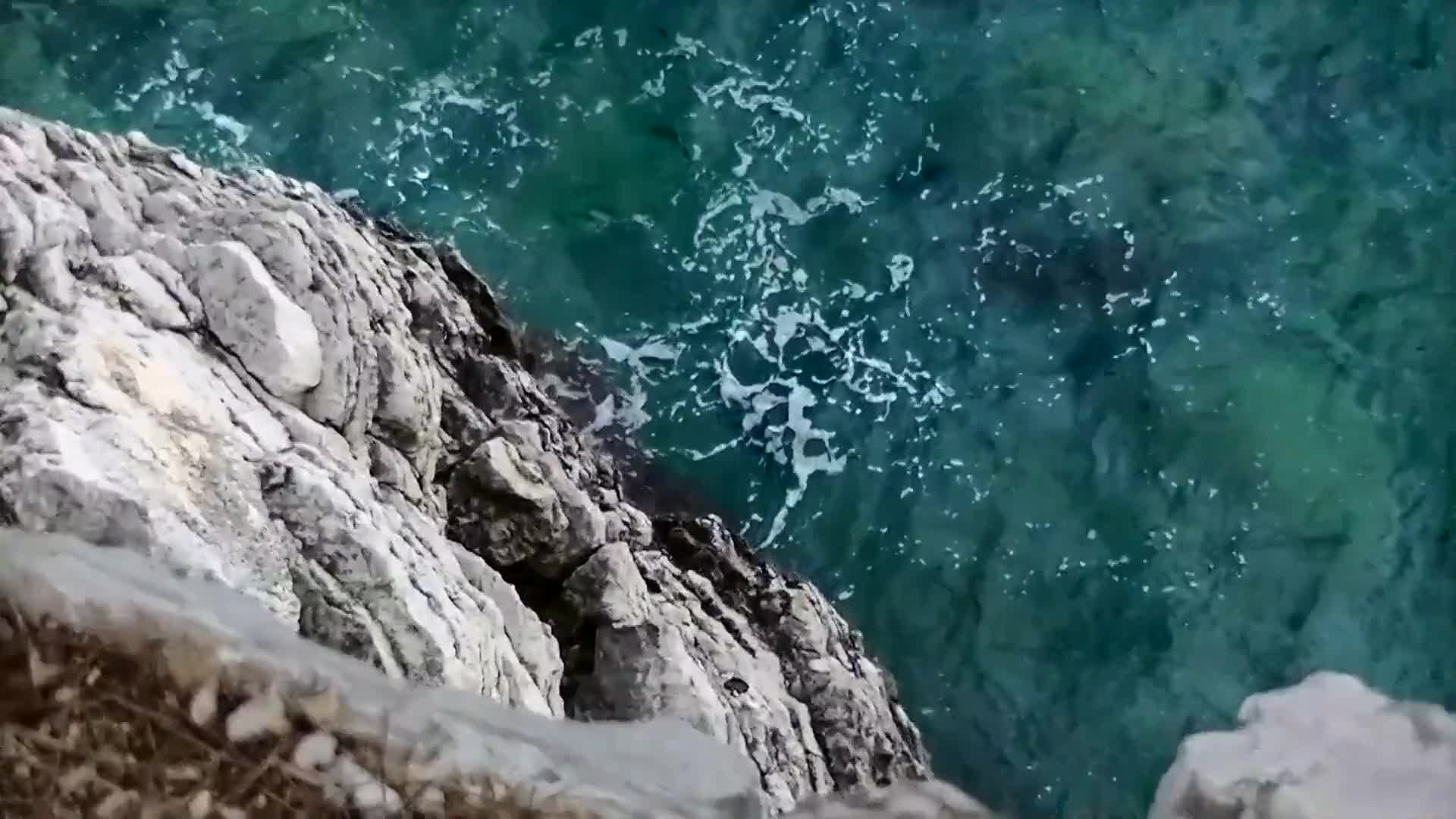 Video of cliff diving