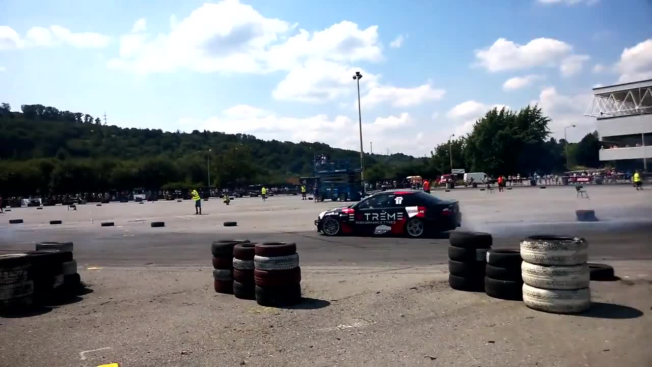 Car drift racing