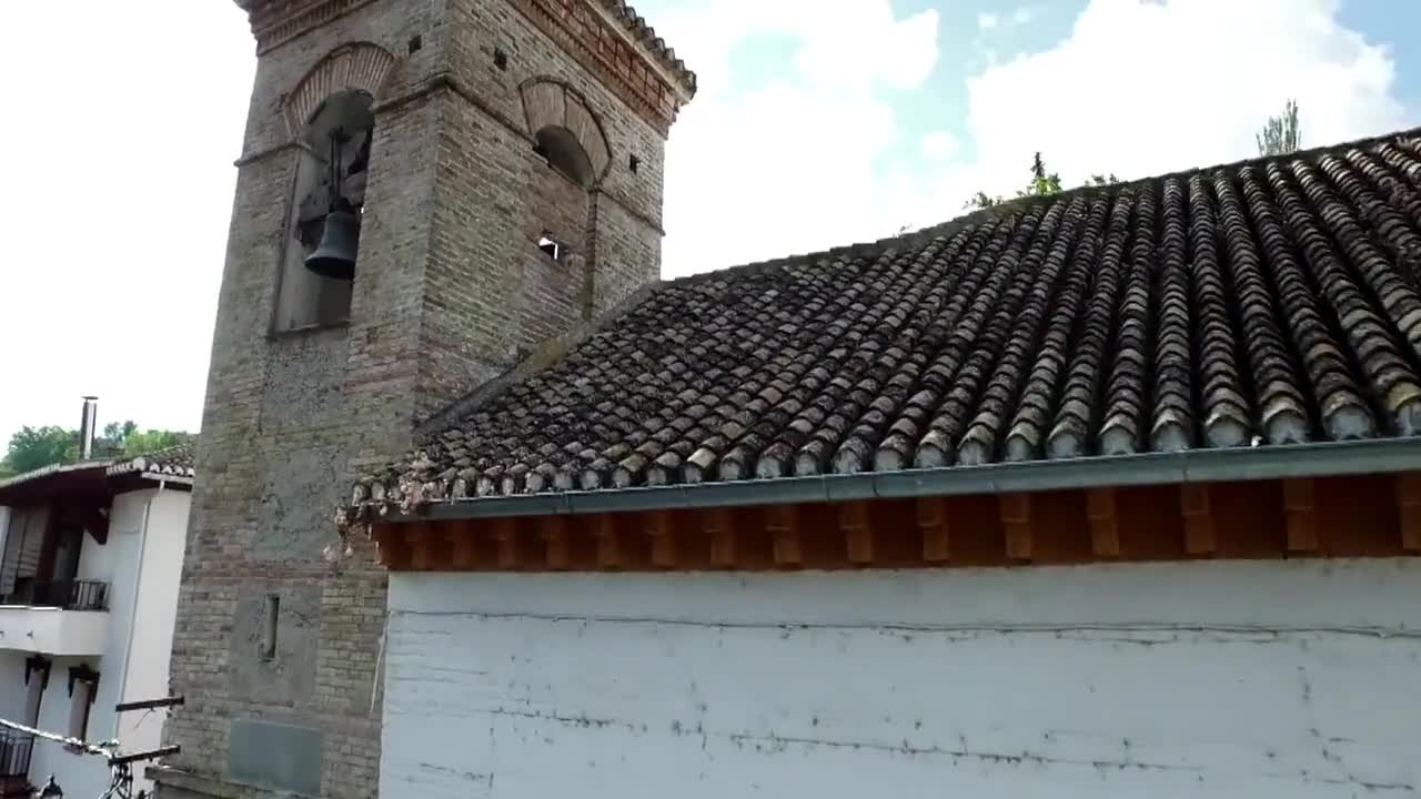 Outside and inside video of a church