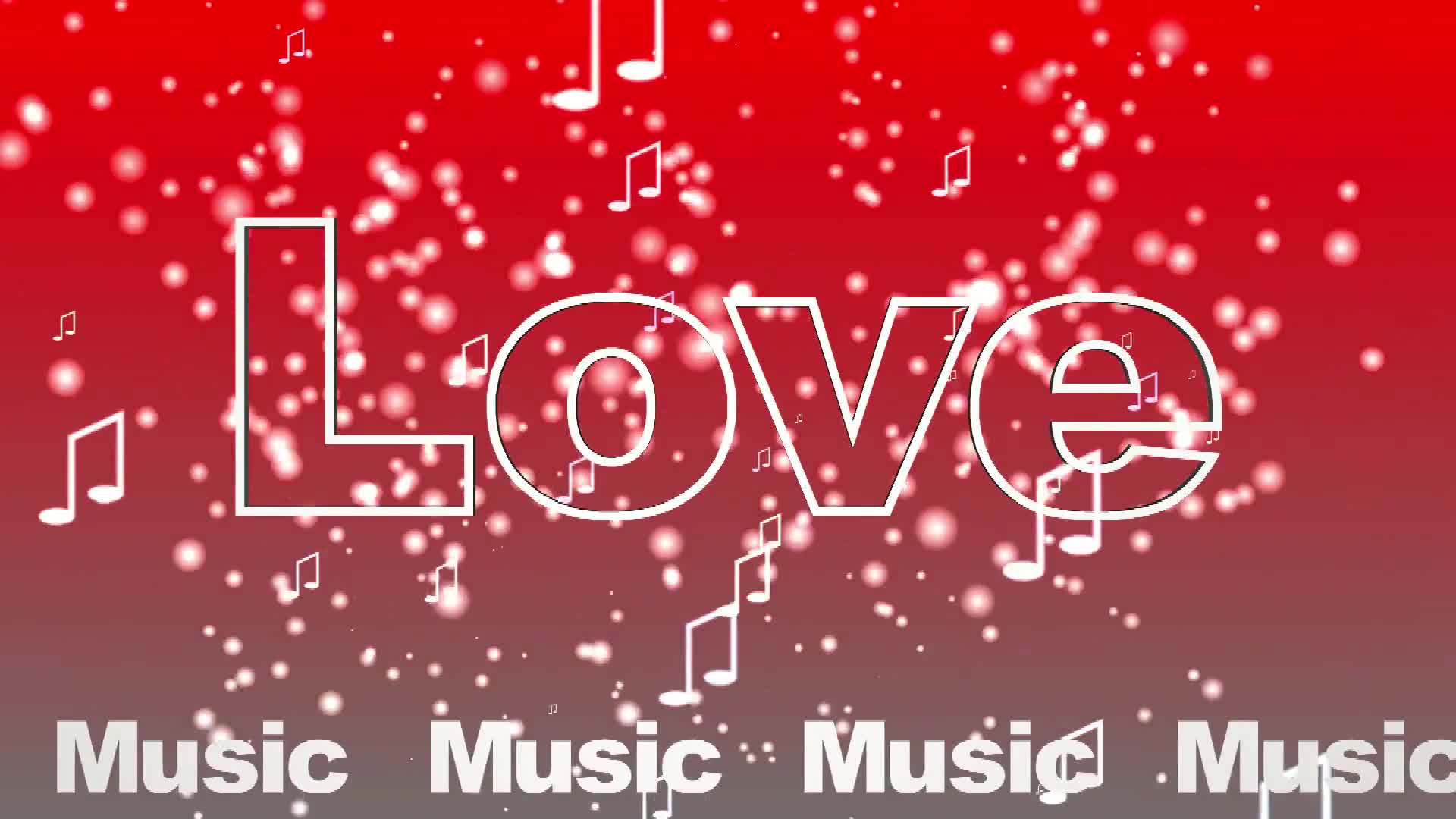 Love music red white show