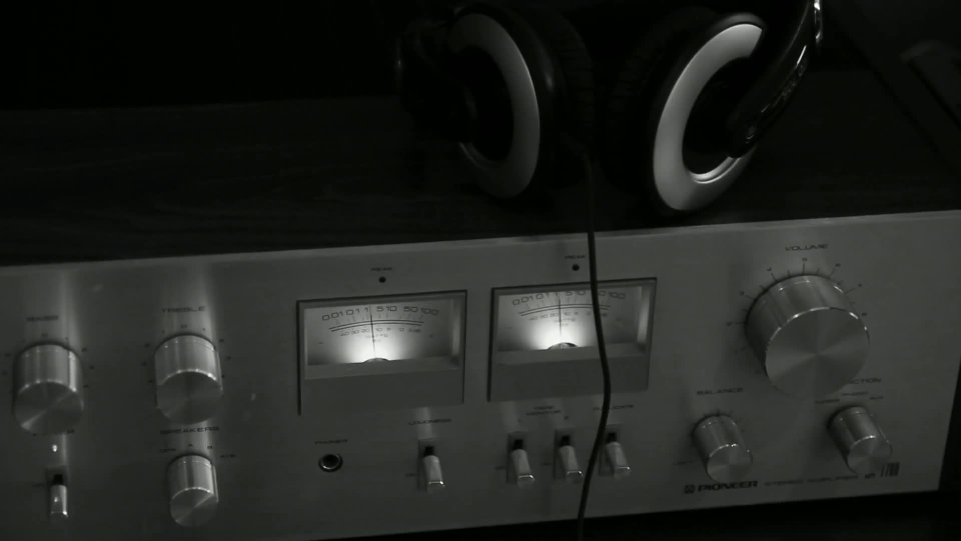 Vu meter volume gauge analog audio