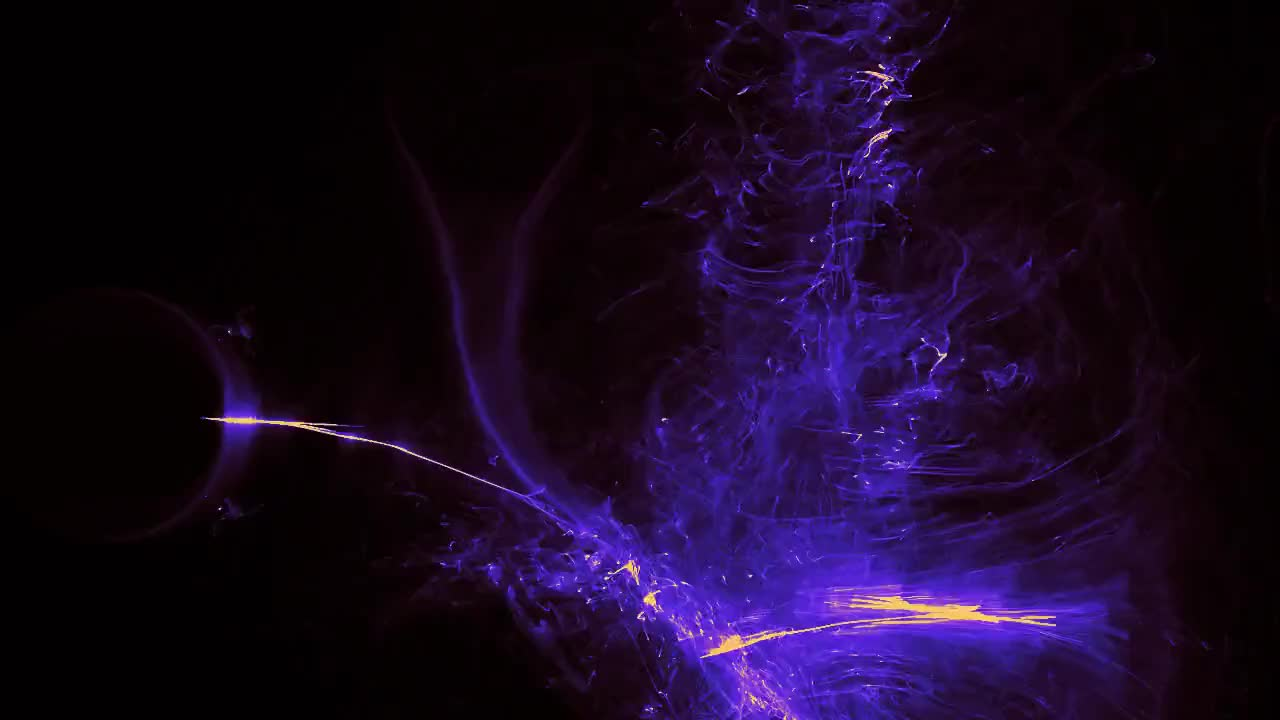 Energy flame lightning abstract blue