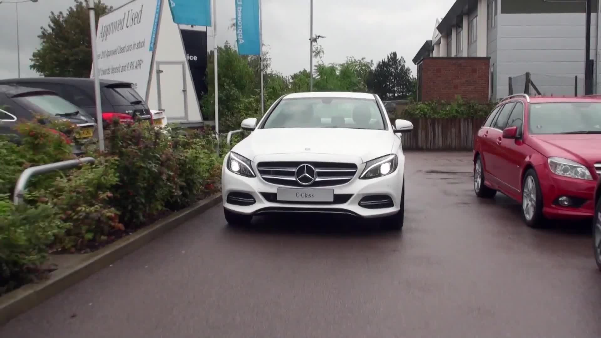 Mercedes car driving vehicle transportation