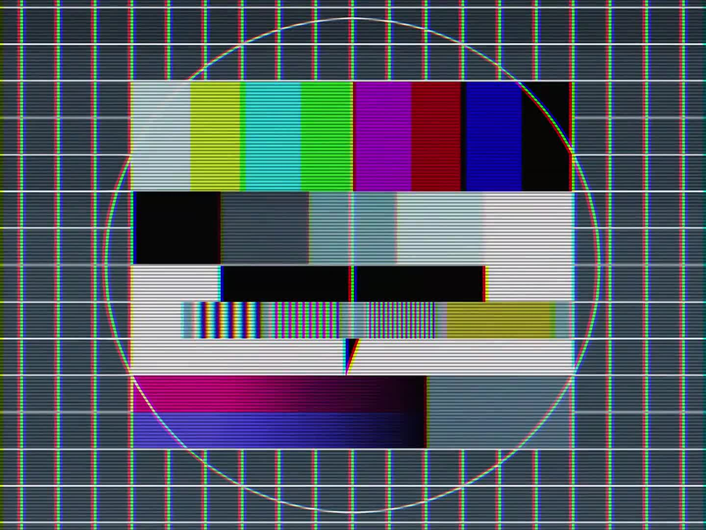 Test image tv intermission watch tv break
