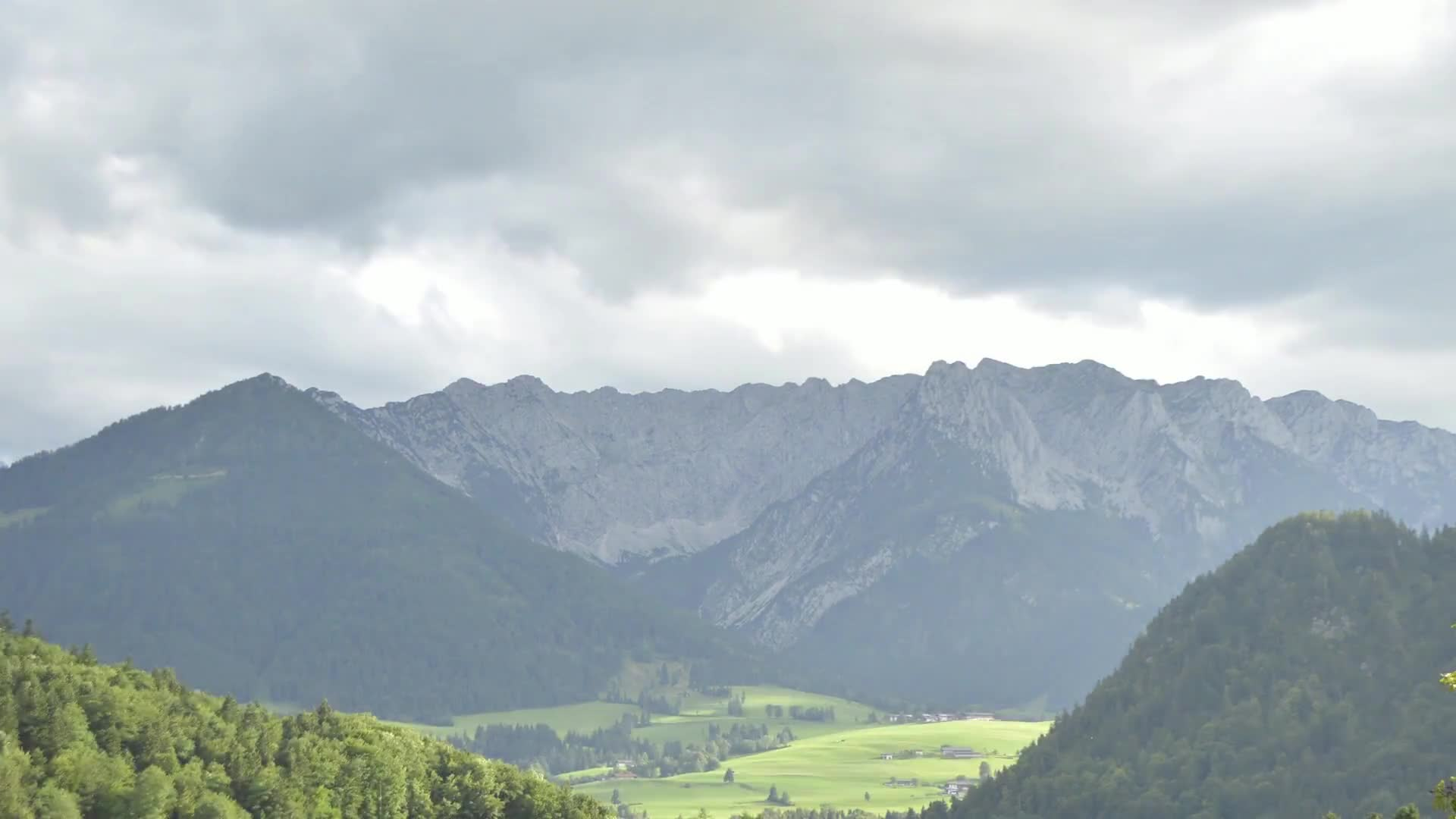 Mountains austria time lapse hiking nature