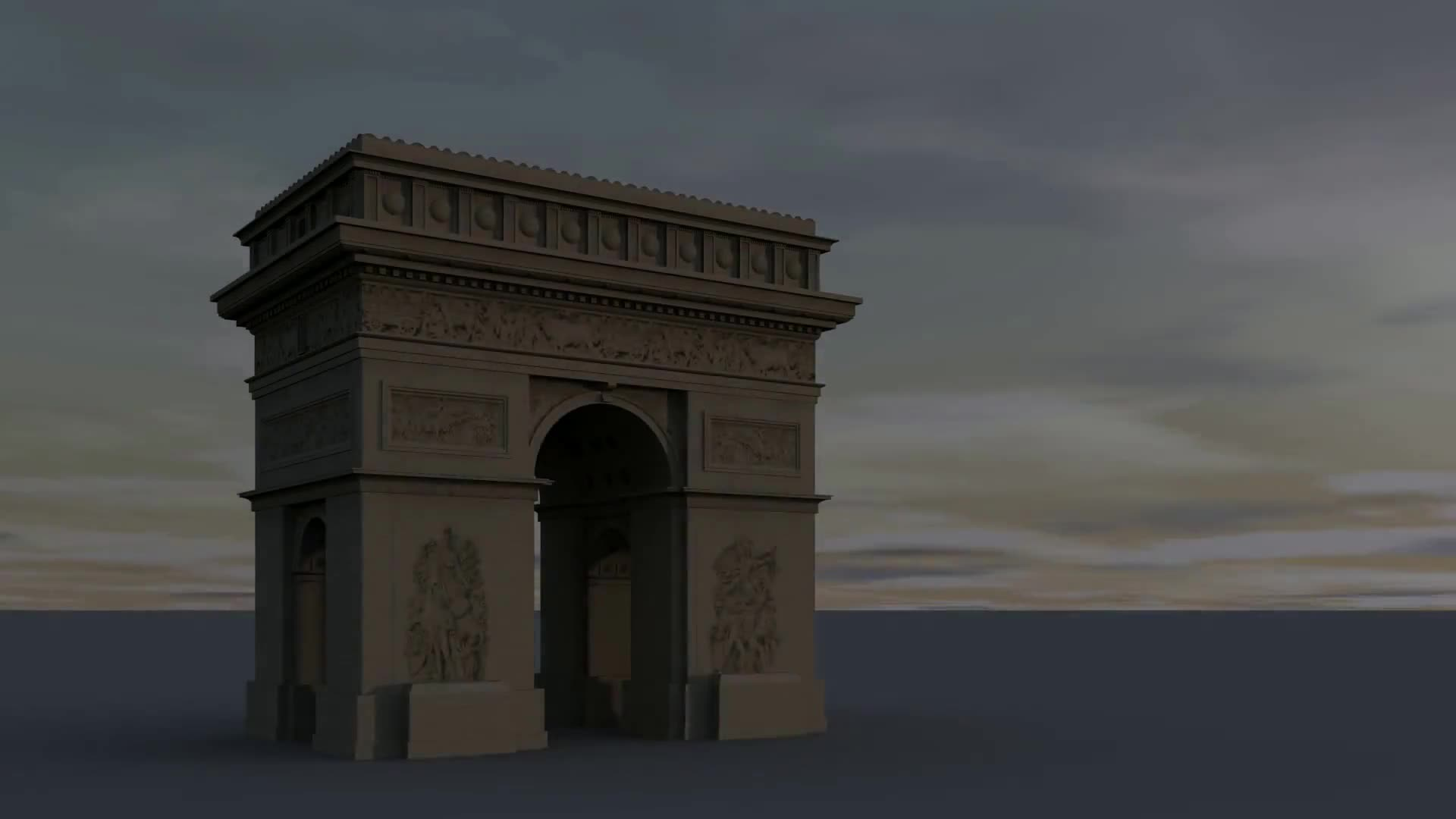Arc de triumph arc de triomphe paris france art