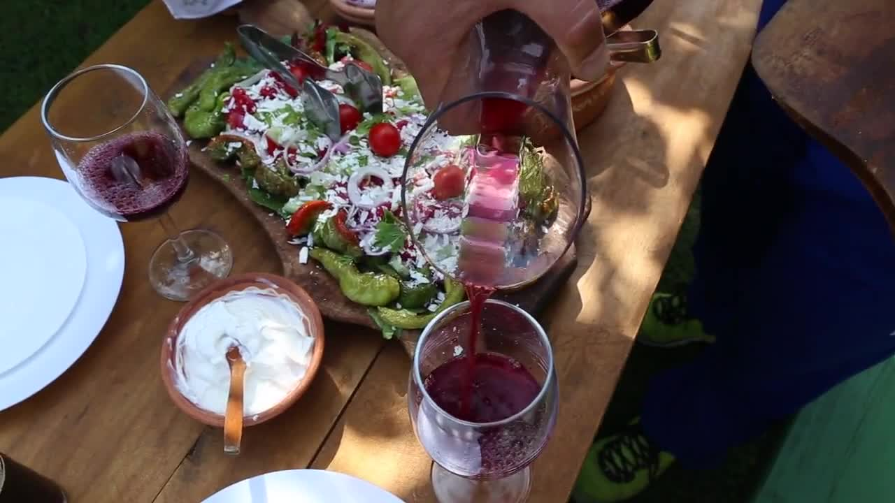 Wine tasting food wine fresh salad
