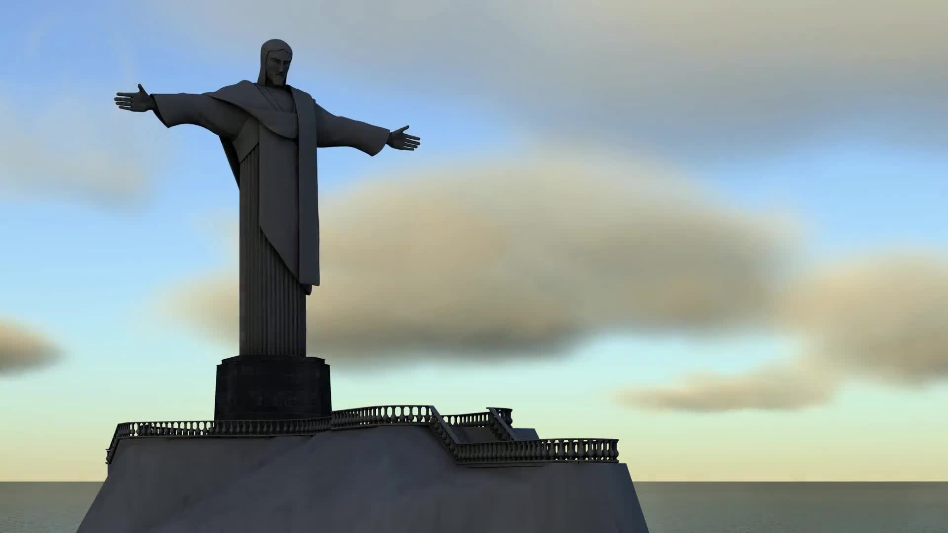 Jesus sculpture cristo brazil art
