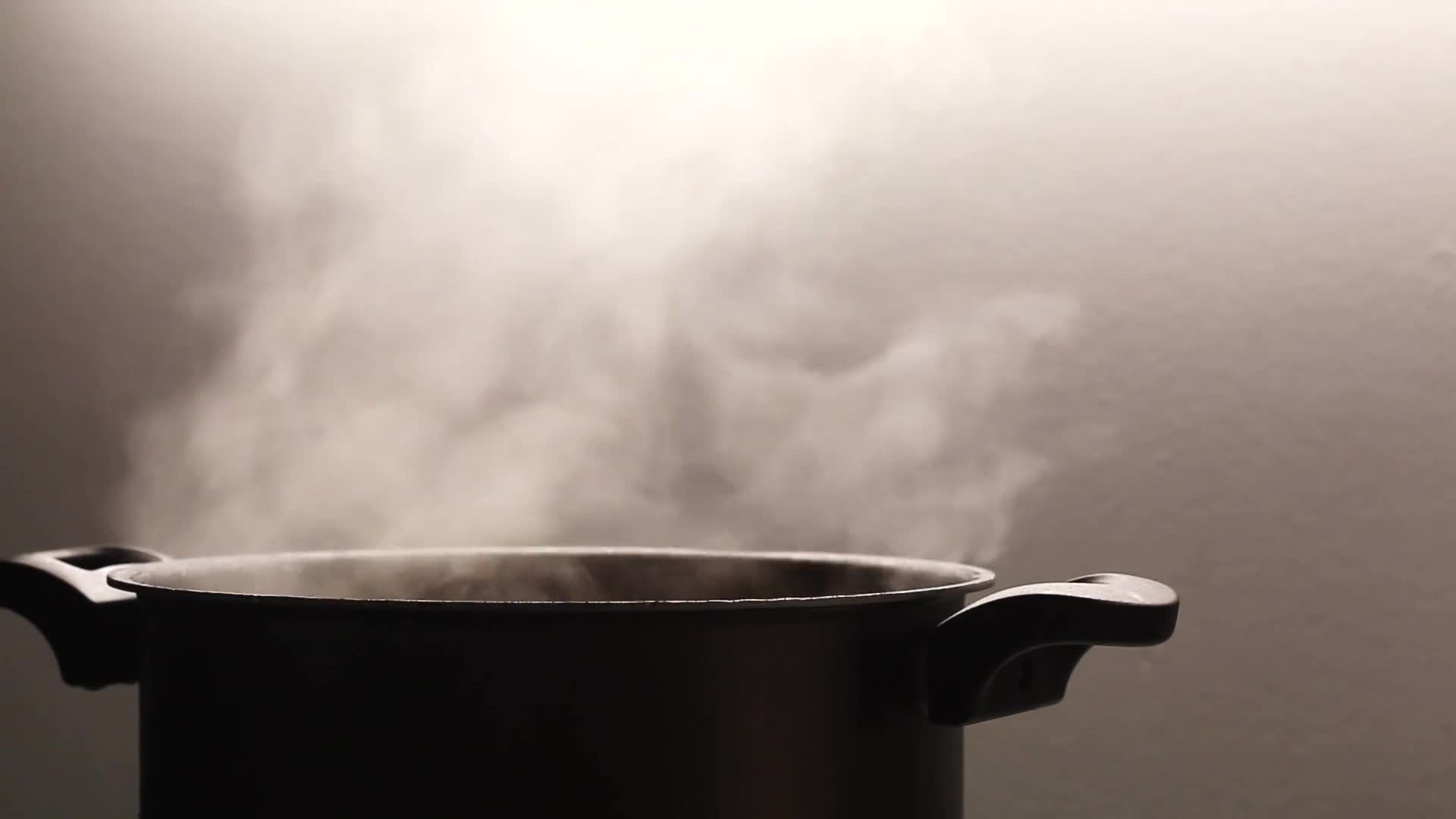 Pot cooking steam steaming hot