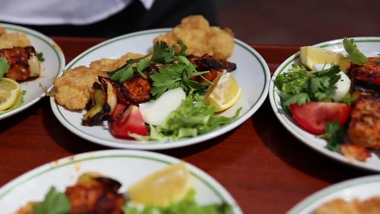 Food turkish dish traditional cuisine