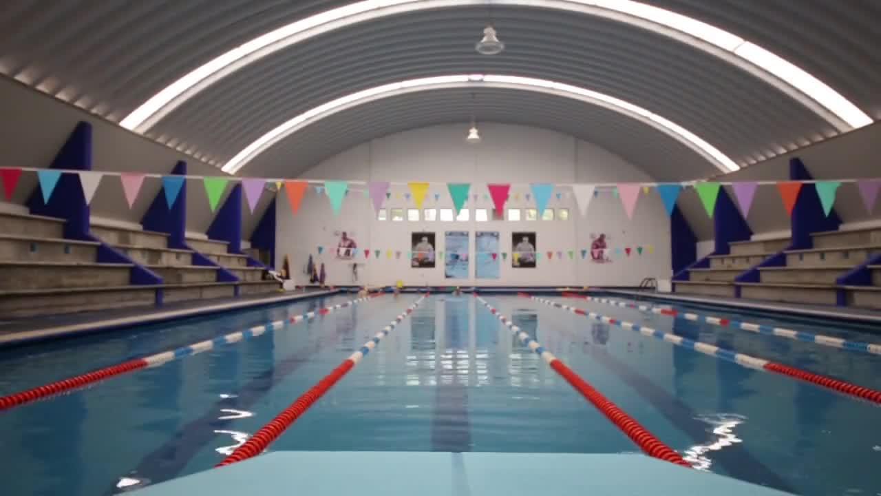 Swimming pool water indoor swimming pool