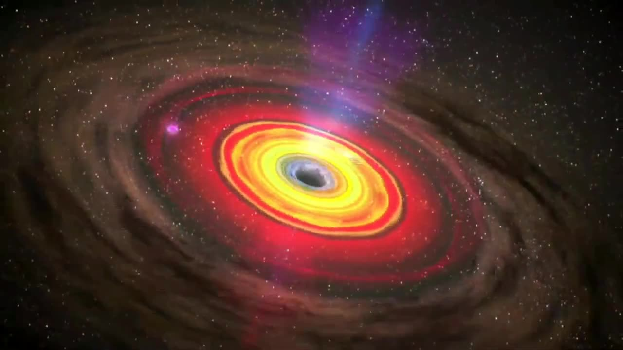 Black hole nasa wormhole circling gravity