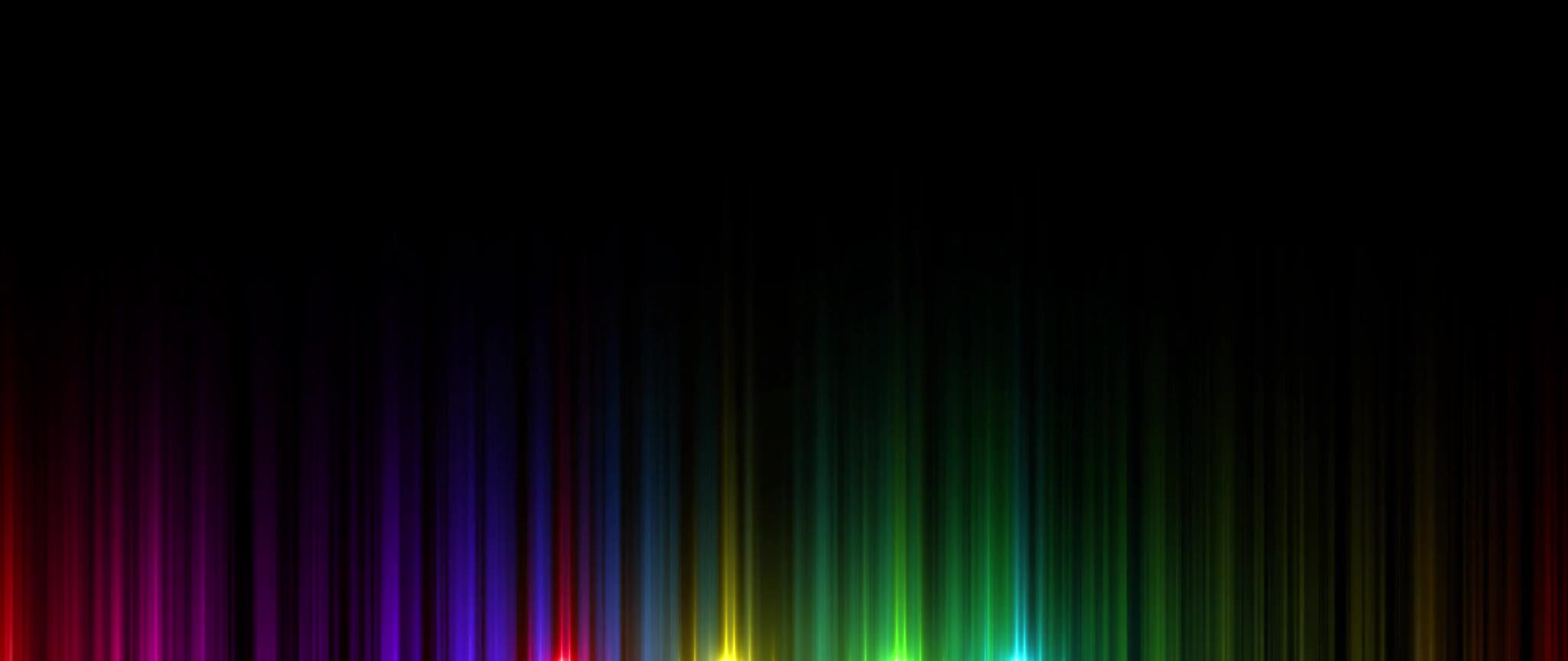 Colors lines lights arts colorful
